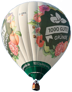 Wolkentaxi Ballonfahren NiederrheinWolkentaxi Ballon