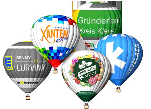Wolkentaxi Ballonfahrt Niederrhein